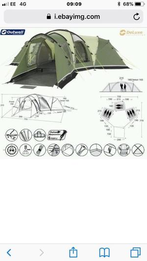 Sunncamp Profile Xl 8 man Tent   in