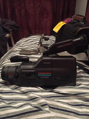 Sharp Camcorder and camera bag - £5!