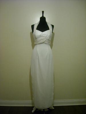 Vintage Wedding Dress Size:12