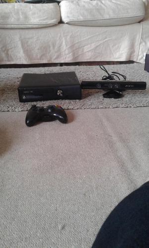 Xbox 360 Console with Kinect and Controllers