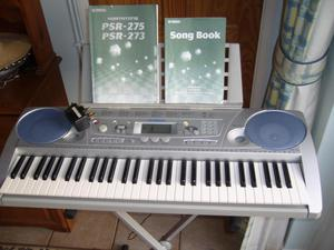 Yamaha PSR-275 electronic keyboard with stand and