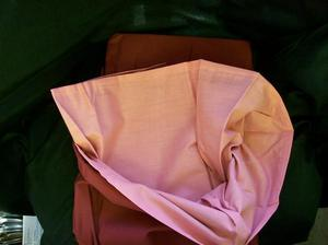 2 No. New Single Bed Quilt Cover. Pink/Cherry Reversible