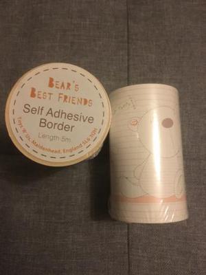 2 x Babies R Us Self Adhesive Border