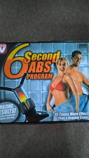 Abs 6 second programme abdominal as seen on TV crunches