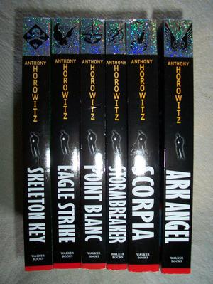 Anthony Horowitz set of 6 books
