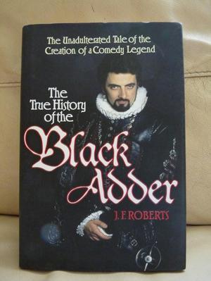 BLACK ADDER - Brand New Hardback Book