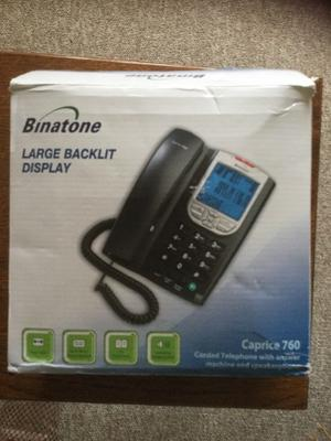 Binatone caprice 760 landline telephone