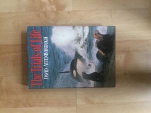 Book hardback The Trials of Life David Attenborugh
