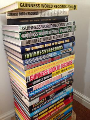 Collection of 19 x Guinness Book of World Records