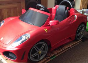 Ferrari F430 Feber 6v battery electric powered car