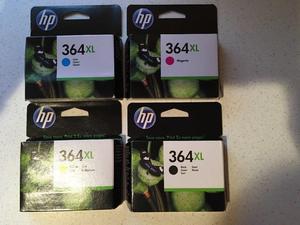 Genuine HP 364 XL ink cartridges
