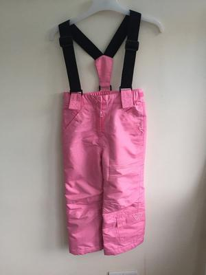 Girls Pink Salopettes