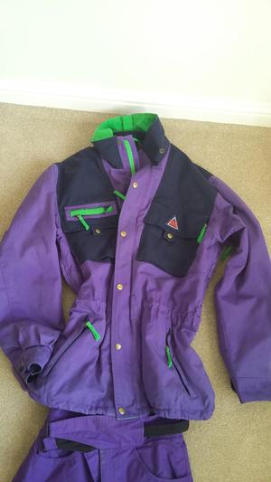 Ladies Ski Jacket &Trousers