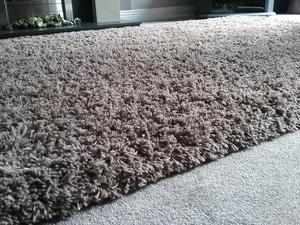Large mink coloured rug