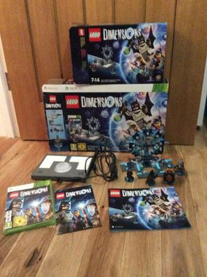 Lego Dimensions xbox 360 starter pack & fun pack Back to future  & Ninjago