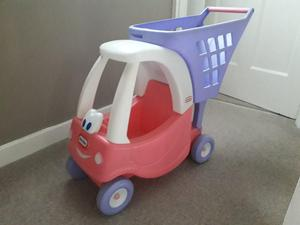 Little tikes coupe trolley