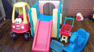 Little tykes bundle garden furniture