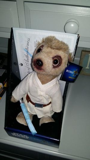 Luke Skywalker Meerkat Toy. Brand new in box