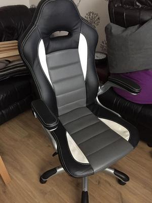 Office Home sports leather chair in good condition