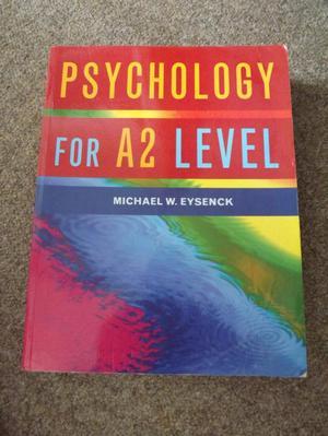Psychology A2 textbook