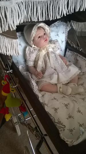 """Reborn Baby girl doll by reva schick """""""
