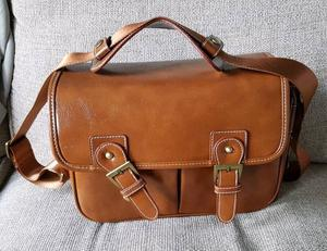 Retro Camera Bag brand new synthetic leather