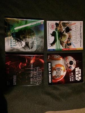 Star Wars books x4