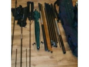 VARIOUS FISHING RODS ETC in Bolton