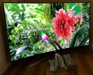 49in Curved Samsung KS SUHD 4K QUANTUM DOT HDR  SMART LED TV