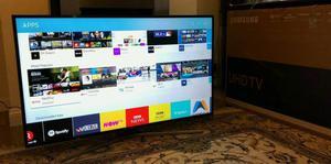 55in Samsung 4K SMART HDR Ultra HD TV WI-FI TV Plus WARRANTY