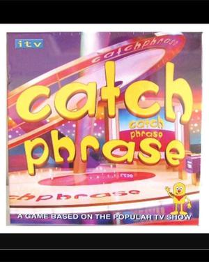 Brand new catchphrase game