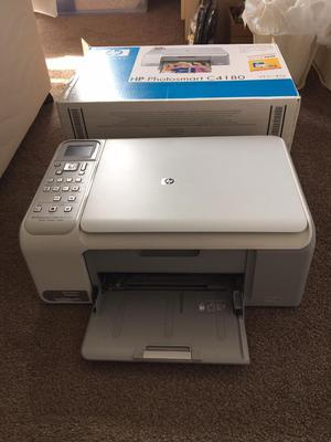 HP Photosmart C all in one printer