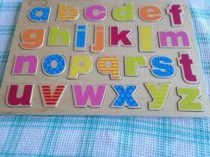 Jig saw - alphabet. Calls only