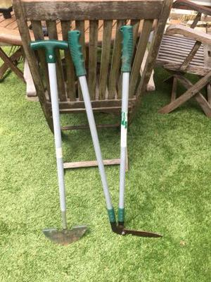 Lawn edging cutter and shears (2 pieces)