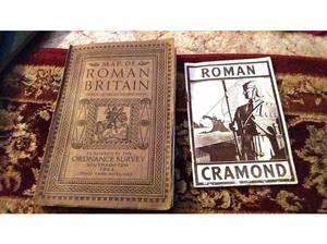 Map of Roman Britain 1st Edition and Roman Cramond Book in