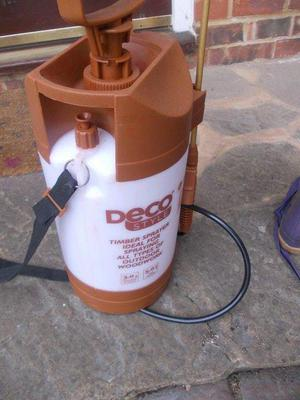 NEW DECO STYLE TIMBER SPRAYER 5L.