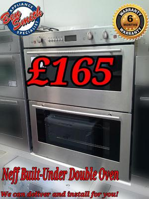 Neff Built-Under Double Oven Electric Stainless Steel
