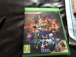 New Xbox one game for sale sonic forces bargain £25