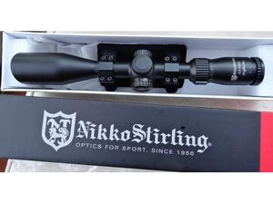 Nikko Stirling Nighteater X42 mildot scope. Side focus