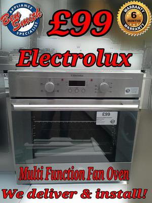 Oven Stainless Steel Multi Function Fan Oven