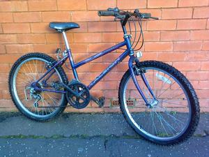Raleigh mountain bike - 24 inch - straight - wheels - ready to ride !
