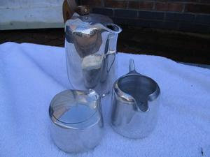 Retro Picquot coffee set