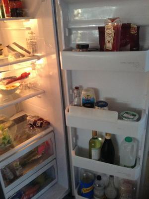 Samsung American larder fridge freezer