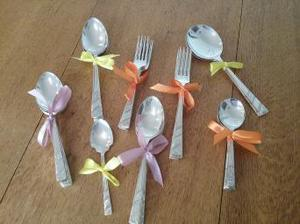 33 pieces of silver plated Sheffield cutlery