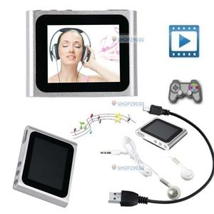 6TH GENERATION MP3 MP4 MUSIC MEDIA PLAYER FM Games Movie 1.8