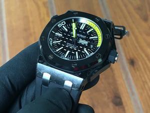 AP Audemars Piguet Diver Carbon / Not Rolex