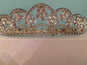 Beautiful diamanté tiara