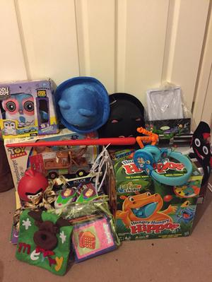 Box of toys/car boot joblot