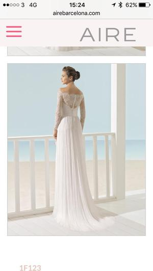 Brand new Aire Barcelona Xeno wedding dress 12