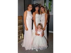 Bridesmaid dresses and flower girl dress in Darwen